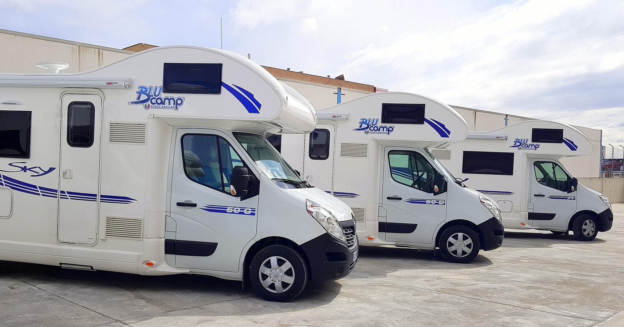 Campers autocaravanas y autocaravanas adaptadas